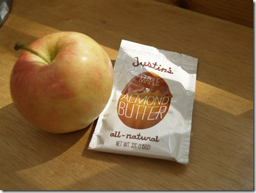 Apple and Justin's Maple Almond Butter