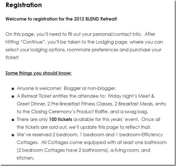 BLENDRegistration