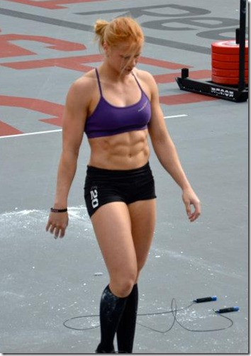 crossfit  girl annie thorisdottir