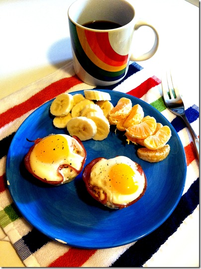 Paleo Ham And Egg Cups