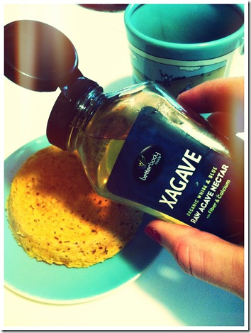 Paleo Cake with Xagave for Crossfit