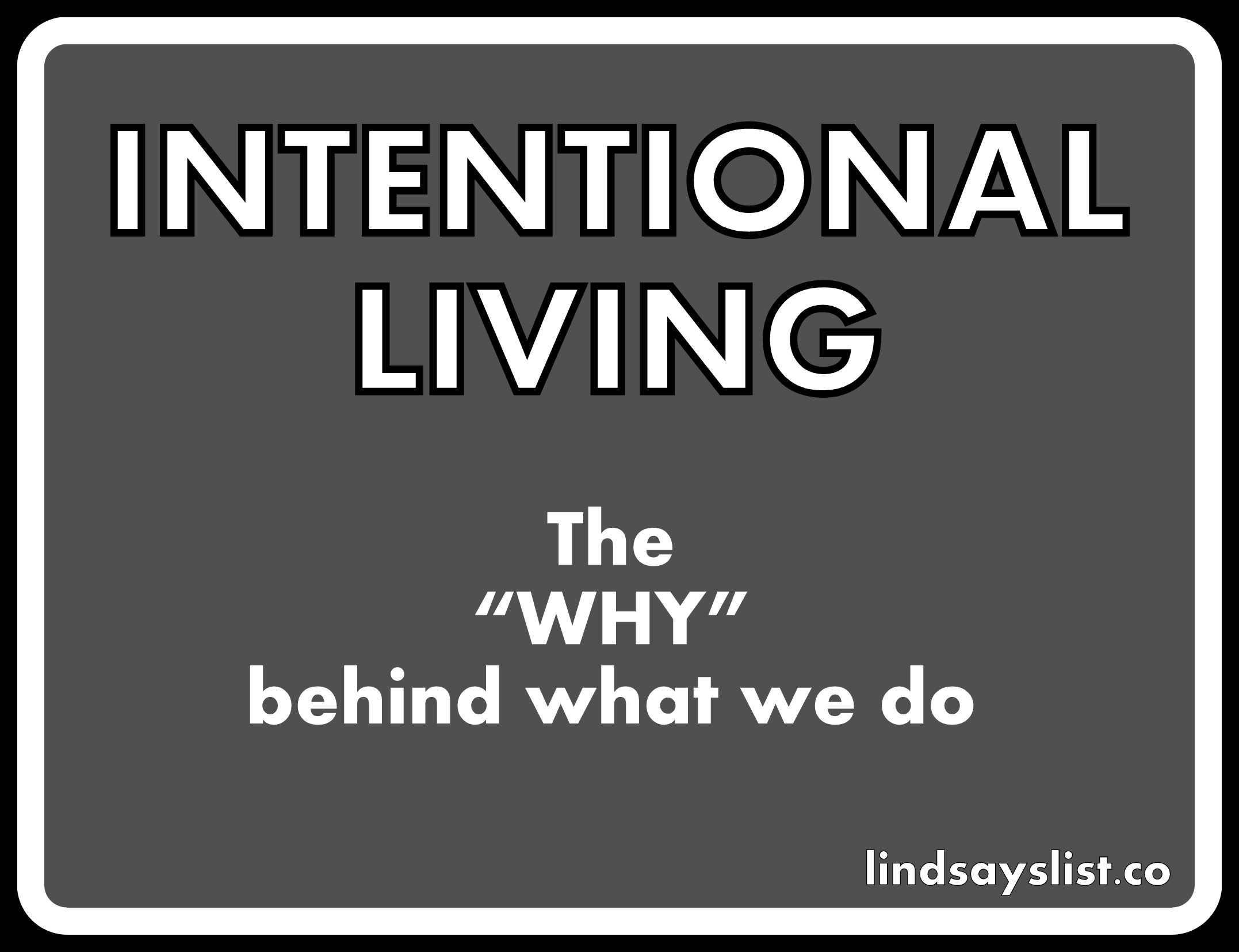 intentionalliving