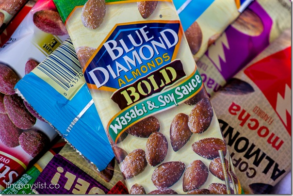 Blue Diamond Wasabi Soy Sauce Almonds