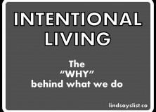 intentional living … spending matters