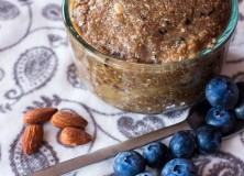 blue diamond blueberry-coconut almond butter