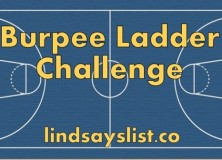 the infamous burpee ladder workout