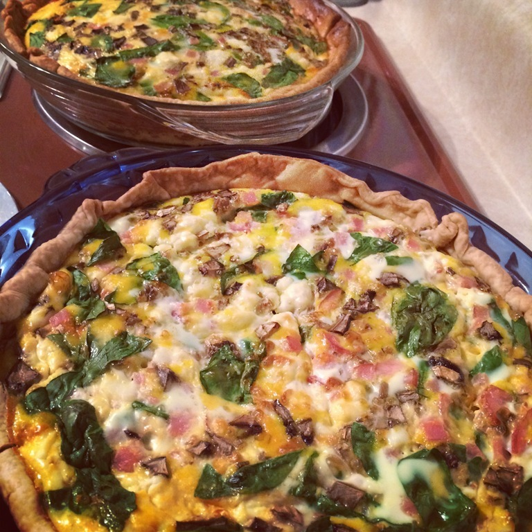 The easiest quiche you 39 ll ever make lindsay 39 s list for The best quiche ever